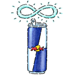 Red Bull Recycling Facts Icon