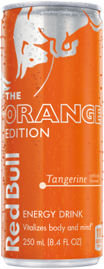 Packshot of Red Bull Orange Edition