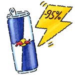 Red Bull Energy Saving Facts Icon